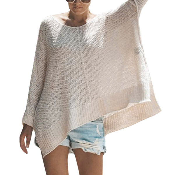 Winter Boho Warm O Neck Long Sleeve