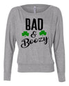 Bad and Boozy Women's Long Sleeve Shirt