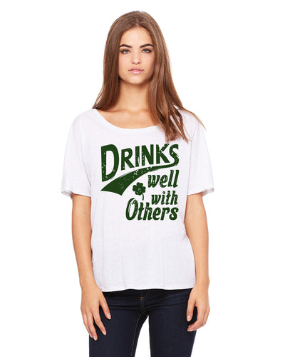 Drinks Well With Others Women's Shirt