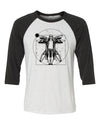 The Dude Vitruvian Unisex Baseball Shirt