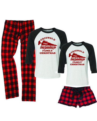 Griswold Family Christmas Unisex Pajamas