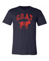 Tom Brady Goat Tshirt (Distressed Look)