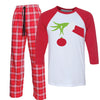 Funny Christmas Morning Eve Pajamas for men women kids