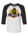 Fornight Llama Park Unisex 3/4 Length Baseball Shirt