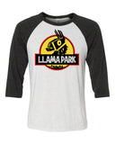 Fornite Llama Park Unisex 3/4 Length Baseball Shirt