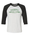 Paddy's Irish Pub Unisex Baseball Shirt
