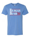 Reagan Bush '84 Unisex Distressed T-Shirt