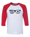 You'll Shoot Your Eye Out Kid Christmas 3/4 Length Baseball Raglan T Shirt