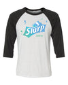 Fornite Slurp Unisex 3/4 Length Baseball Shirt