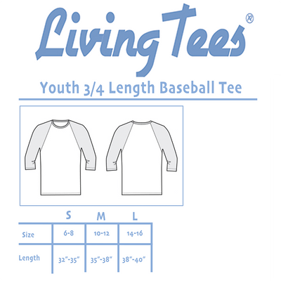 Fort-nite Llama Park Kids/Youth/Toddler 3/4 Length Raglan Baseball Shirt