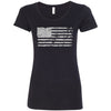 American Flag Fourth Of July Women's T-Shirt