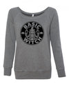 Basic Witch Womens Wideneck Sweatshirt