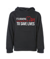 It's A Beautiful Day To Save Lives Unisex Hoodie
