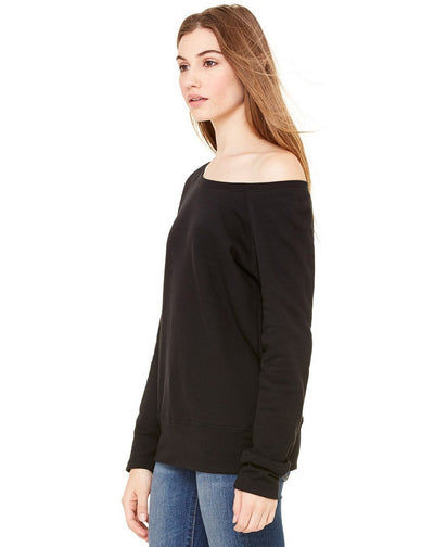 Coffee Wine And Amazon Prime Women's Wideneck Sweatshirt