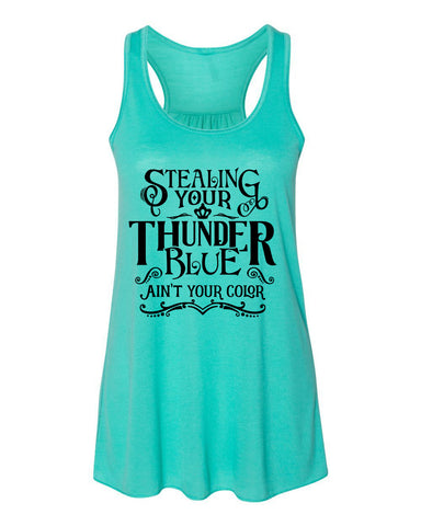 Blue Ain't Your Color Country Tank Top