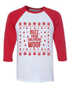 Buzz Your Girlfriend Woof Baseball Shirt