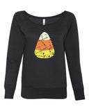 Candy Corn Halloween Women's Sweatshirt