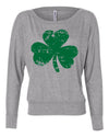 Clover Shamrock St Patricks Day Long Sleeve Shirt