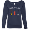 Come, We Fly Women's Wideneck Sweatshirt