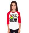 Don't Be A Cotton Headed Ninny Muggins Kids Baseball Shirt