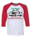 Cousin Eddie RV Baseball Shirt