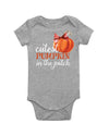 Cutest Pumpkin In The Patch Baby Bodysuit