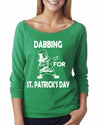 Dabbing For St Patrick's Day 3/4 Length Shirt