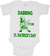 Dabbing Leprechaun St Patricks Day Bodysuit
