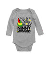 Cotton Headed Ninny Muggins Elf Christmas Long Sleeve Baby Bodysuit