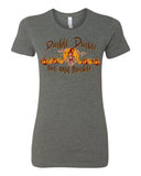 Double Double Toil and Trouble Witch Graphic Halloween T-shirt