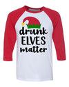 Drunk Elves Matter Funny Christmas Party shirt for men women