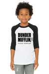 Dunder Mifflin shirt for kids