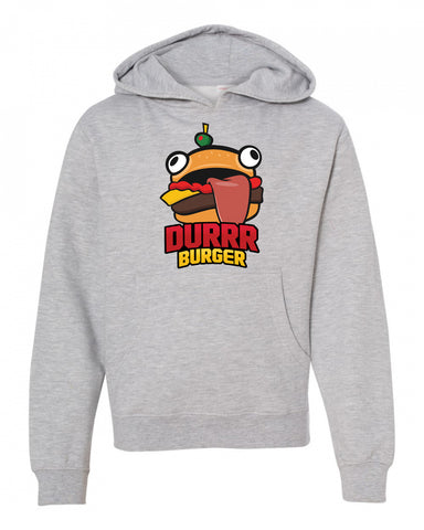 Durrr Burger Fortnite Sweatshirt for youth boys kids