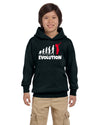 Evolution Red Youth Hoodie