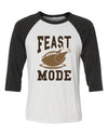 Feast Mode Unisex Baseball Shirt