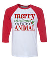 Merry Christmas Ya Filthy Animal Baseball Shirt