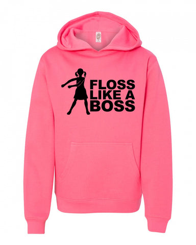 Floss like a boss Girl Flossing Fortnite Sweatshirt