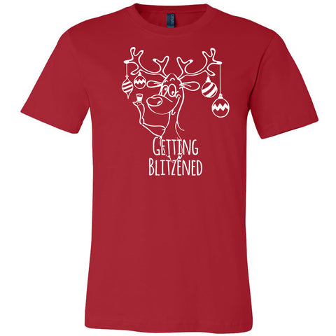 Getting Blitzened Christmas shirt