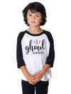 Ghoul Magnet Kids Baseball Shirt