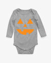Jack-o-Lantern Pumpkin baby costume Long Sleeve Bodysuit