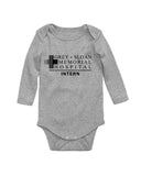 Grey Sloan Memorial Hospital Greys Anatomy Baby Bodysuit