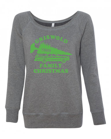 Christmas Vacation Griswold Womens Sweatshirt