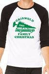 Griswold Family Christmas Vacation Baseball Shirt