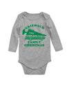 Griswold Christmas Vacation Long Sleeve Baby Bodysuit