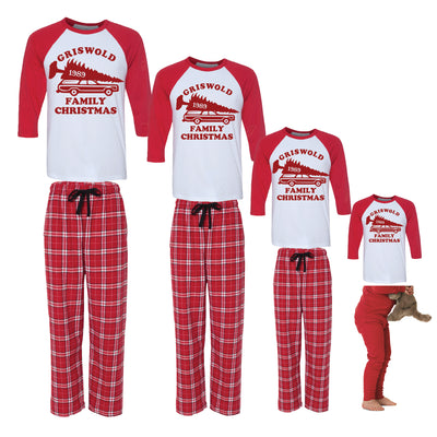 Griswold Family Christmas Vacation Matching Family Pajamas
