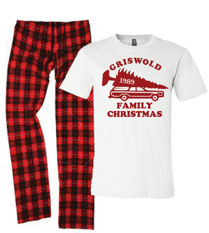 Christmas Vacation Pajamas for the Whole Family