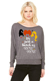 It's Just A Bunch Of Hocus Pocus Long Sleeve Women's Shirt