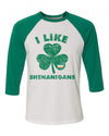 I like Shenanigans Kids Baseball Shirt