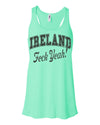 Ireland Feck Ya Funny St Patricks Day Tank Top For Women