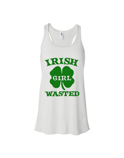 Irish Girl Wasted //St Patricks day tanks for women
